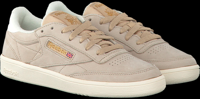 Beige REEBOK Sneakers CLUB C 85 WMN Omoda