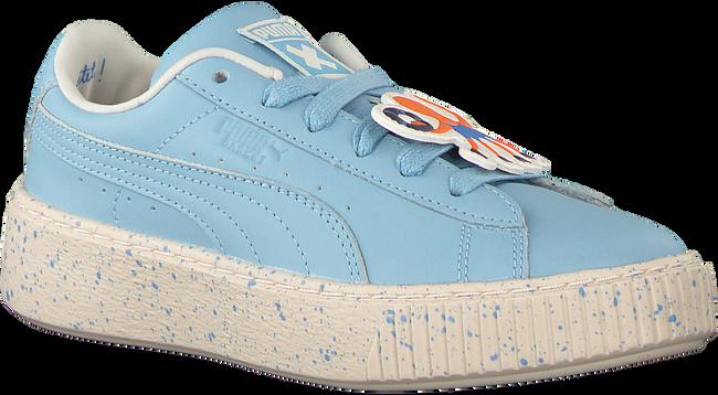 Blauwe PUMA Sneakers PUMA X TC PLATFORM SPECKLE JR - large
