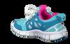 Blauwe NIKE Sneakers NIKE FREE RUN 2  - small