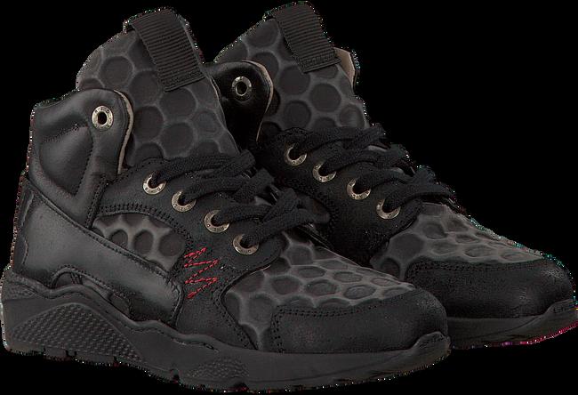 Zwarte RED-RAG Sneakers 15489  - large
