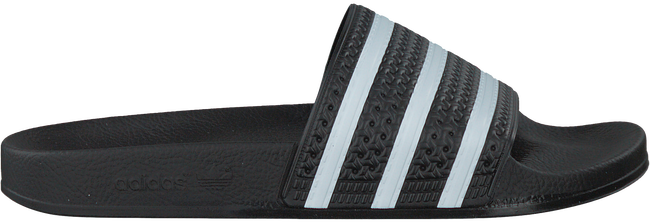 Zwarte ADIDAS Slippers ADILETTE HEREN  - large