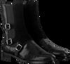 Zwarte PERTINI Enkellaarsjes 30060  - small