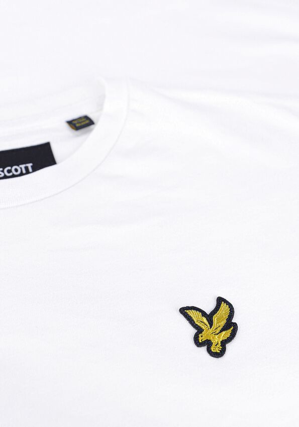 Witte LYLE & SCOTT T-shirt OVERSIZED T-SHIRT  - larger