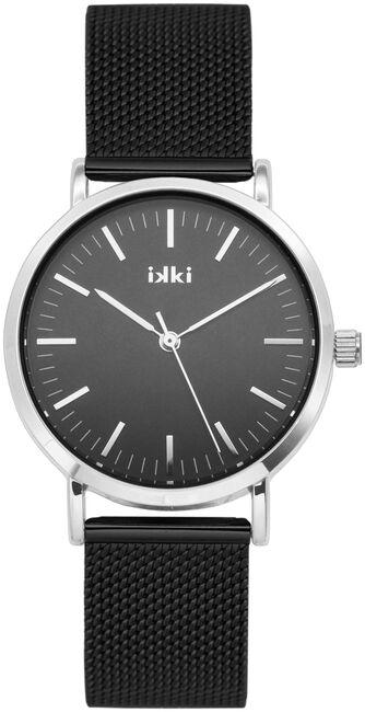 Zwarte IKKI Horloge HAYLEY - large