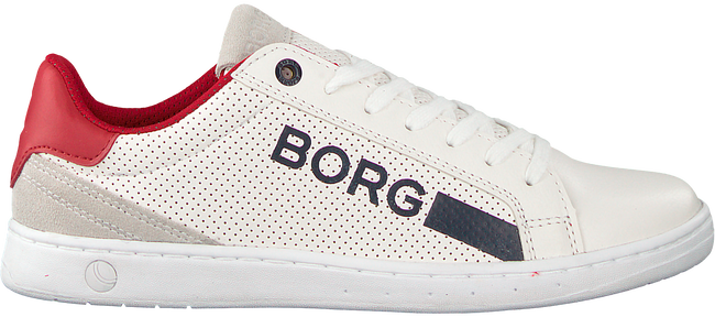 Witte BJORN BORG Sneakers T330 LOW NAP - large