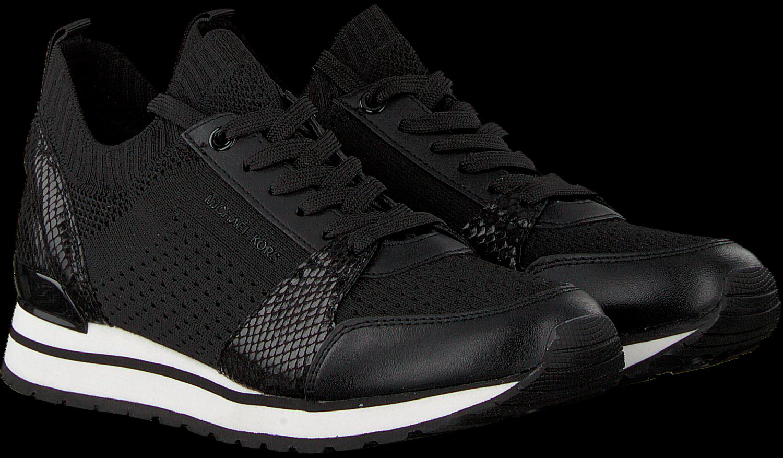 bd8300a84e1 Zwarte MICHAEL KORS Sneakers BILLIE KNIT TRAINER - Omoda.nl