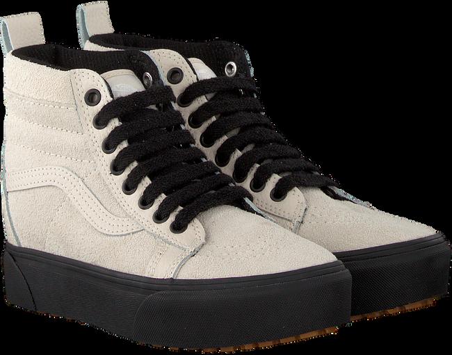 Beige VANS Sneakers SK8 HI PLATFORM MTE - large