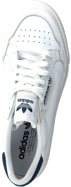 Witte ADIDAS Lage sneakers CONTINENTAL VULC M  - large