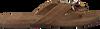 Bruine LAZAMANI Slippers 75.573  - small