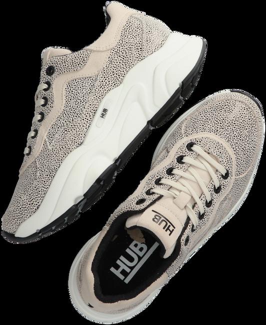 Beige HUB Lage sneakers ROCK-W  - large