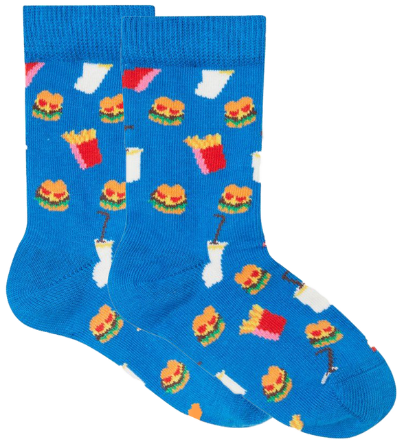 HAPPY SOCKS Sokken HAMBURGER KIDS - large