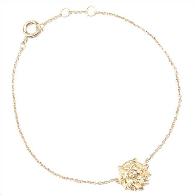 Gouden ATLITW STUDIO Armband SOUVENIR BRACELET LION - large