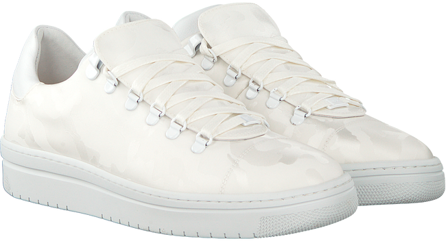 Witte NUBIKK Sneakers YEYE CAMO WOMAN  - large