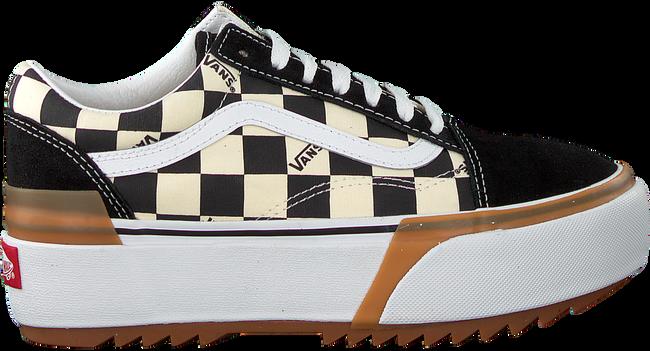 zwarte vans lage sneakers ua old skool stacked
