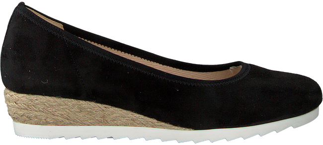 Zwarte GABOR Instappers 641 - large
