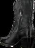 Zwarte NOTRE-V Enkellaarsjes AH68  - small