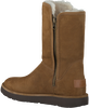 Camel UGG Vachtlaarzen ABREE SHORT II  - small