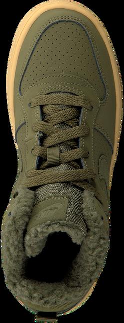 Groene NIKE Sneakers COURT BOROUGH MID WINTER KIDS - large