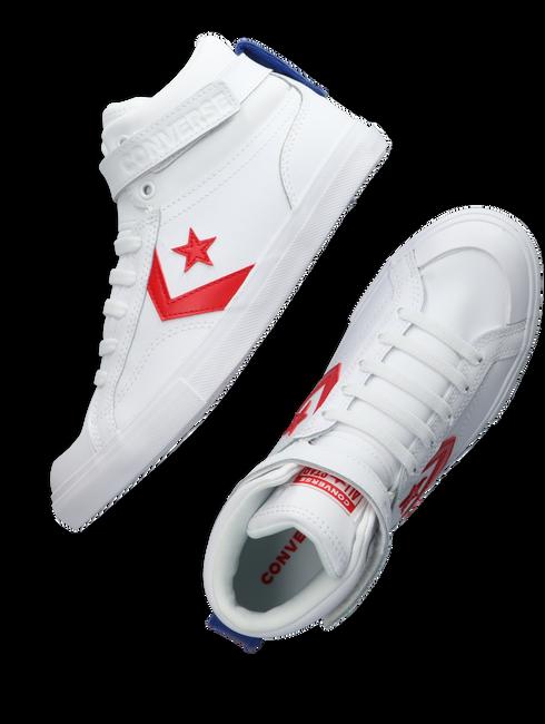 Witte CONVERSE Hoge sneaker PRO BLAZE STRAP VARSITY  - large