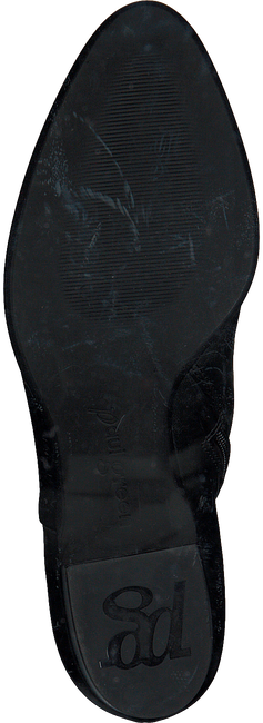 Zwarte PAUL GREEN Enkellaarsjes 8847  - large