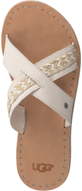 Beige UGG Slippers LEXIA  - large
