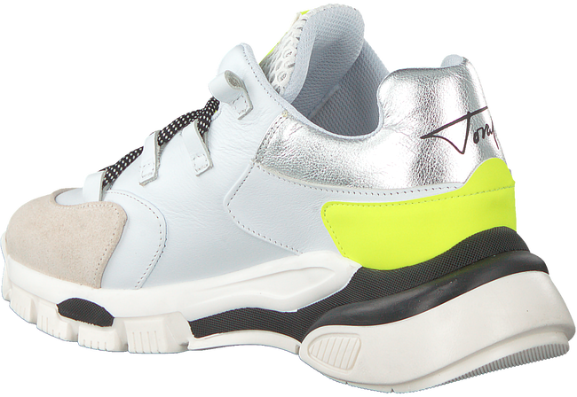 Witte TORAL Sneakers 11101  - large