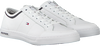 Witte TOMMY HILFIGER Sneakers CORE CORPORATE LEATHER SNEAKER  - small