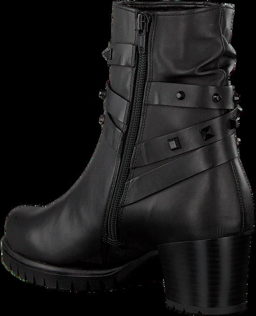 Zwarte GABOR Enkellaarsjes 653 - large