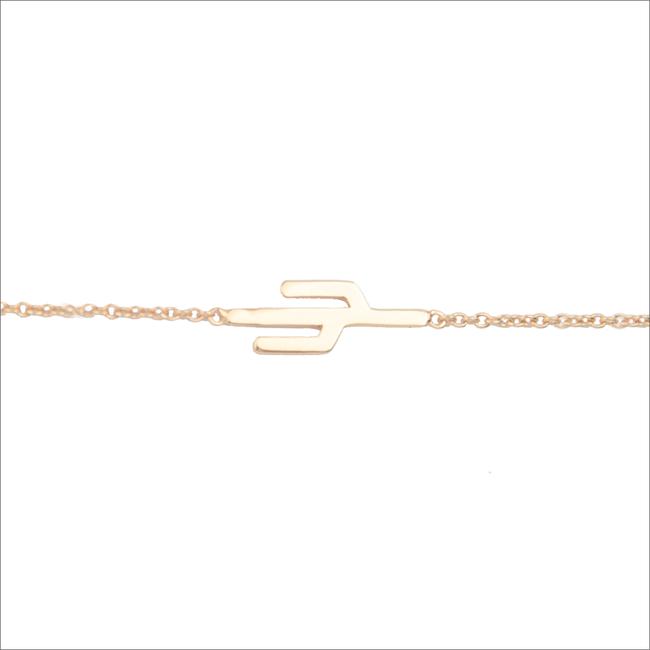 Gouden ATLITW STUDIO Armband SOUVENIR BRACELET CACTUS - large