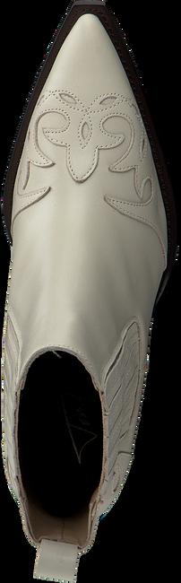Witte TORAL Enkellaarsjes 12358  - large