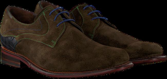 Groene FLORIS VAN BOMMEL Nette schoenen 18079 - large