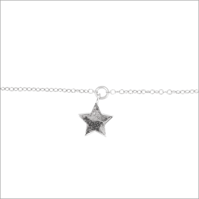 Zilveren ALLTHELUCKINTHEWORLD Armband FORTUNE BRACELET STAR - large