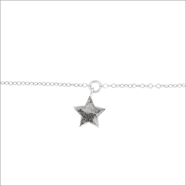 Zilveren ATLITW STUDIO Armband FORTUNE BRACELET STAR - large