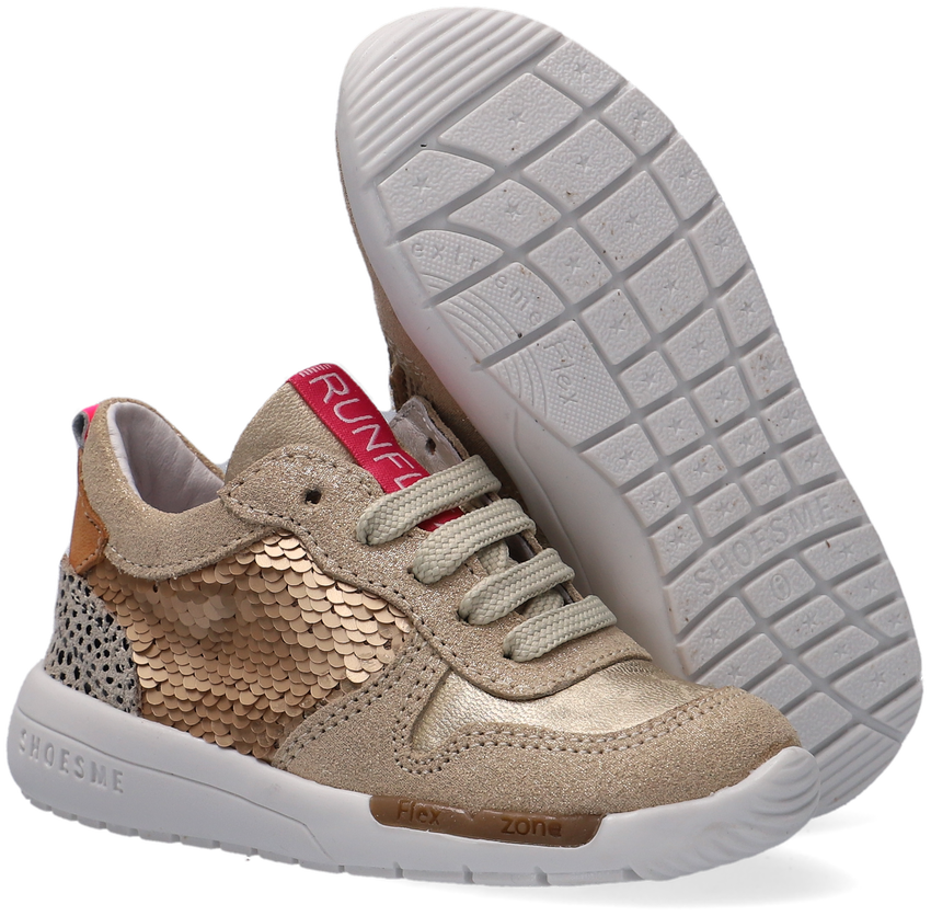 Gouden SHOESME Lage sneakers RF21S029 - larger