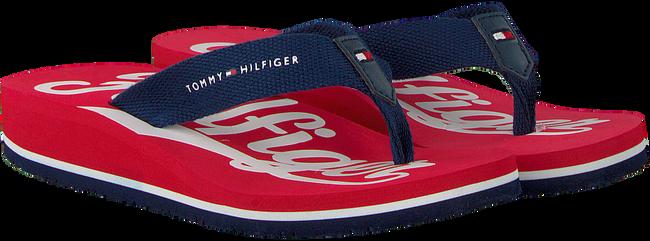 Rode TOMMY HILFIGER Slippers BASEBALL PRINT FLIP FLOP  - large