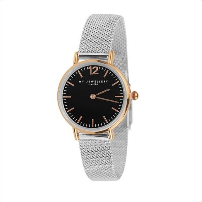 Zilveren MY JEWELLERY Horloge SMALL BICOLOR WATCH - large