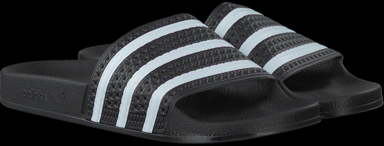 Nl Zwarte Adidas Slippers Adilette Heren – Wcle
