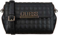 Zwarte GUESS Schoudertas MATRIX CNVRTBLE XBODY BELT BAG  - medium