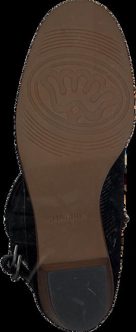 Zwarte SHABBIES Enkellaarsjes 182020116 - large