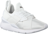 Witte PUMA Sneakers MUSE SATIN - small