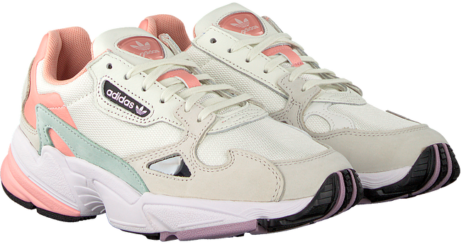 Beige ADIDAS Sneakers FALCON WMN  - large