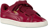 Roze PUMA Sneakers BASKET HEART PATENT  - small