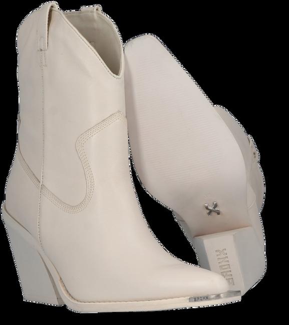 Witte BRONX Enkellaarsjes NEW-KOLE 34176  - large