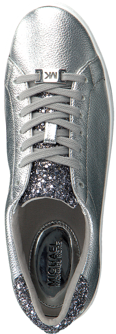 Zilveren MICHAEL KORS Sneakers IRVING LACE UP - large