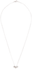 Zilveren ALLTHELUCKINTHEWORLD Ketting FORTUNE NECKLACE THREE STARS - small
