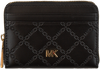 Zwarte MICHAEL KORS Portemonnee MONEY PIECES ZA COIN CARD CASE  - small
