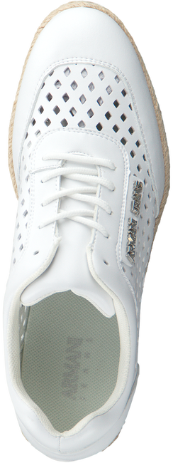 witte ARMANI JEANS Sneakers 925166  - large