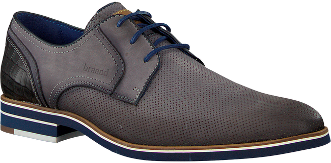 Grijze BRAEND Nette schoenen 15700 - large
