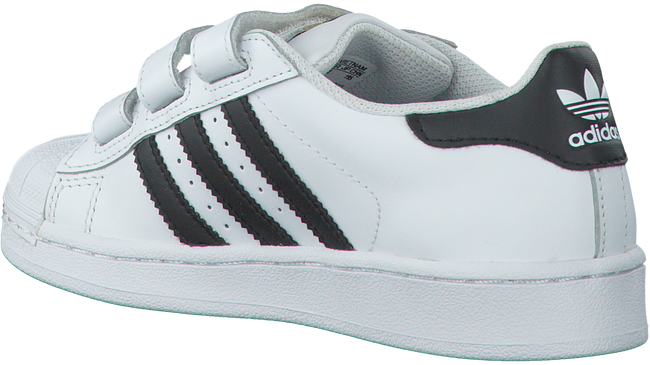 Witte ADIDAS Sneakers SUPERSTAR CF C - large