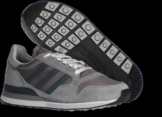 Grijze ADIDAS Sneakers ZX 500  - large